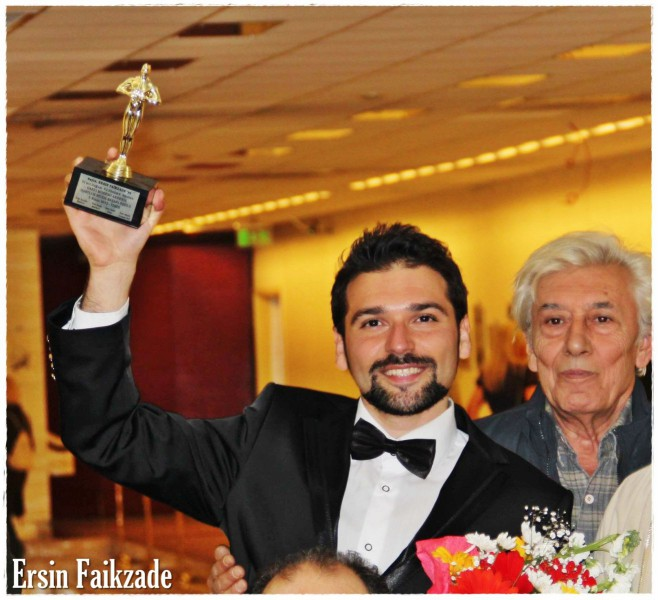 2012 Dario Moreno Mediterrian Music Award for ERSIN FAIKZADE